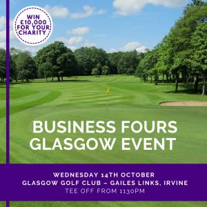 Charity Golf Glasgow Qualifier