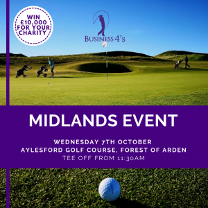 Midlands Charity Golf Event October 2020
