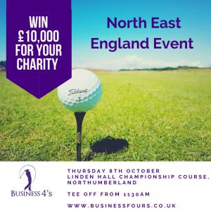 Charity Golf North East England October 2020