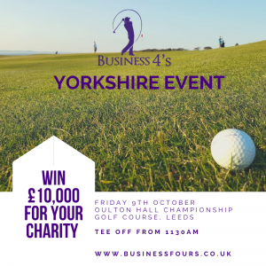 Charity Golf Yorkshire Event October 2020